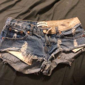 One Teaspoon Shorts - One teaspoon jean shorts